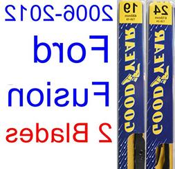 2006-2012 Ford Fusion Replacement Wiper Blade Set/Kit