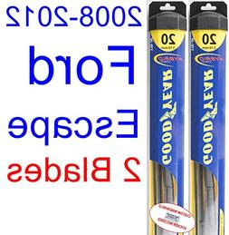 2008-2012 Ford Escape Replacement Wiper Blade Set/Kit