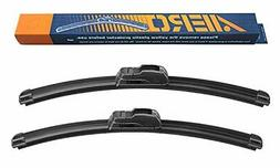 Windshield Rubber Wiper Blades w/ Superior Surface Contact 2